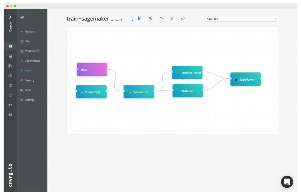 Train multiple models and select the best one to deploy to SageMaker