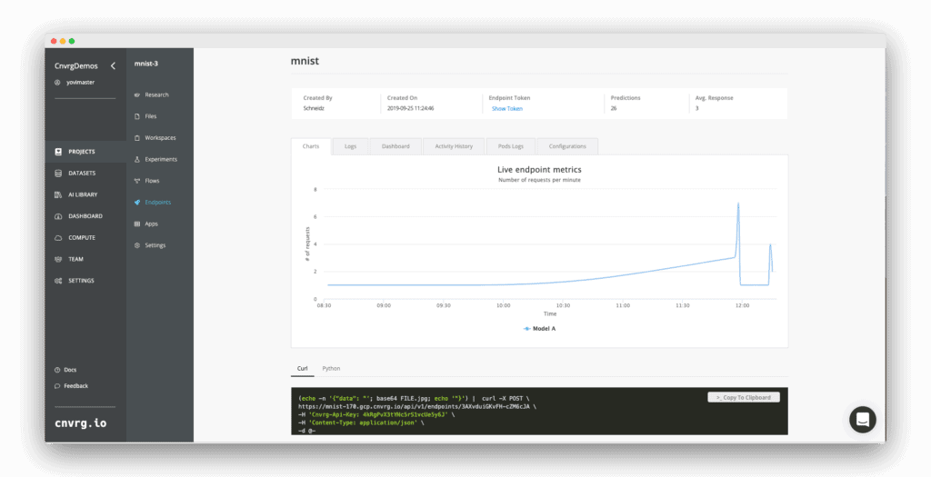 Monitor your machine learning models performance while in production