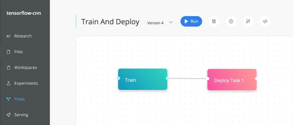 Train and deploy