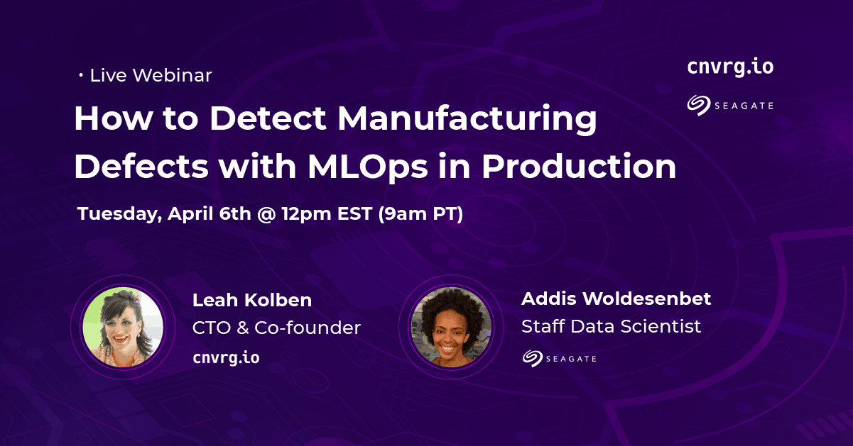 How to Detect Manufacturing Defects with MLOps in Production