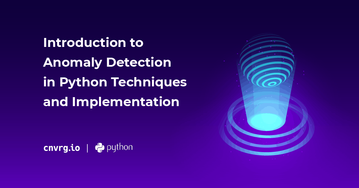 Introduction to Anomaly Detection in Python Techniques and Implementation